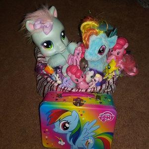 My little pony giftbasket